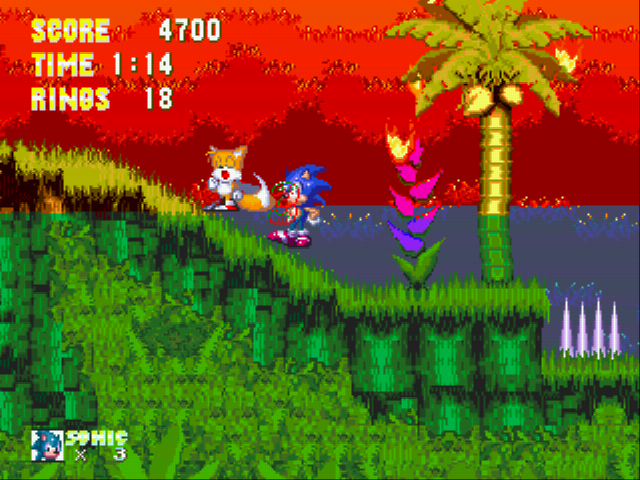 Sonic the Hedgehog 3 - Drowning when your head is ABOVE water? - User Screenshot